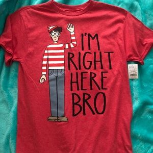 Boys where's Waldo ? Short sleeve tee
